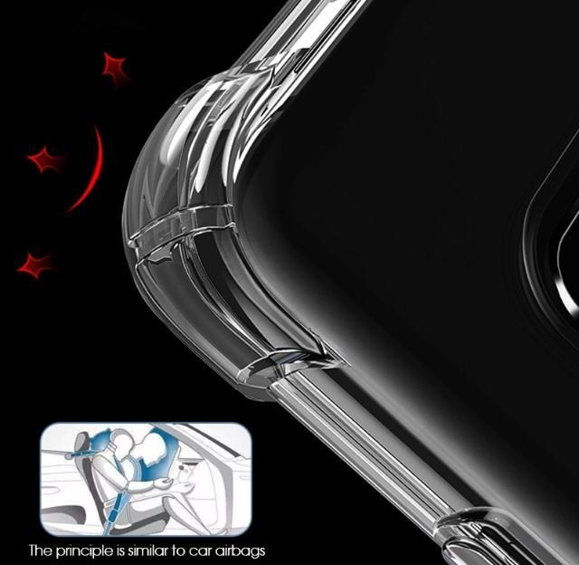 Capinha Transparente Anti Choque Xiaomi Redmi Pocophone F1