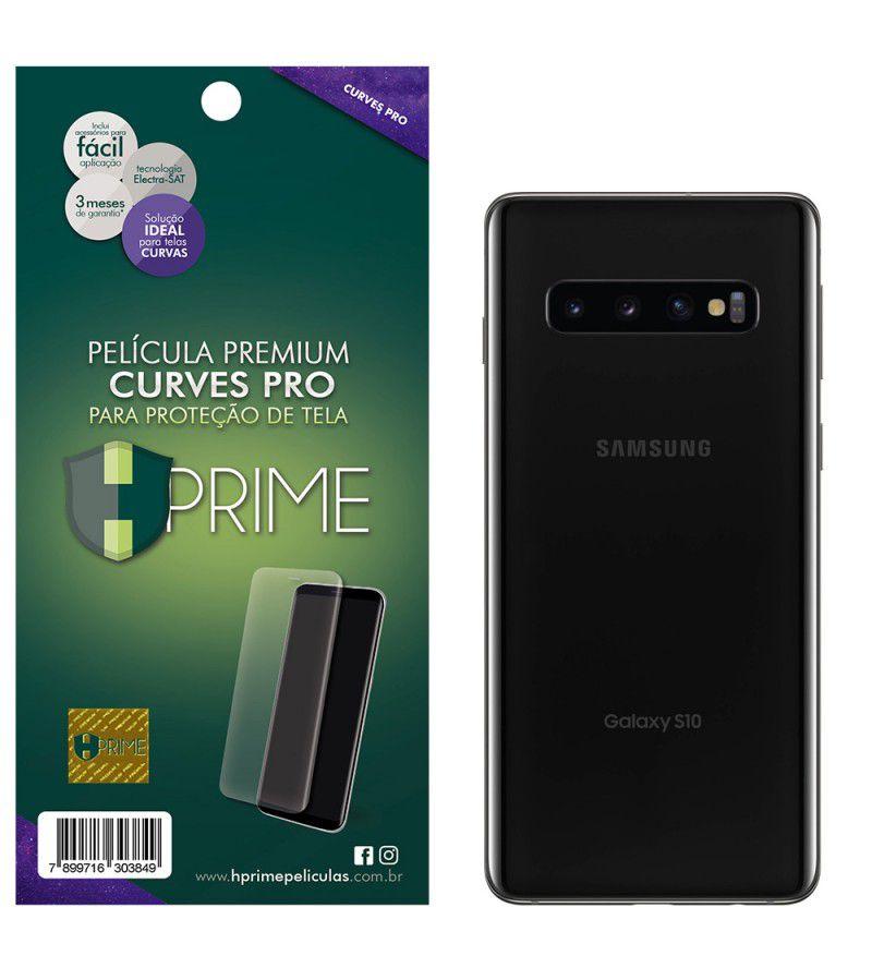 Pelicula Curves Pro para Samsung Galaxy S10 - VERSO