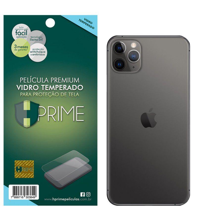 Película Premium HPrime Apple IPhone 11 Pro Max - VERSO - Curves PRO (Se Adere Na Parte Curva Da Tela)