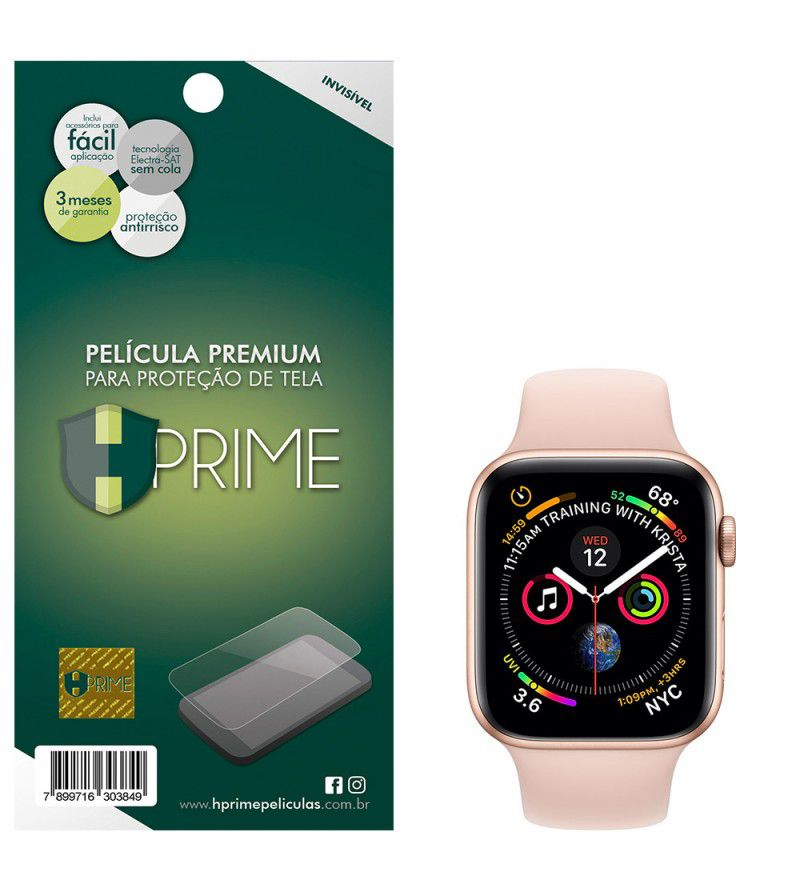 Película Premium HPrime Apple Watch 40mm - PET Invisível