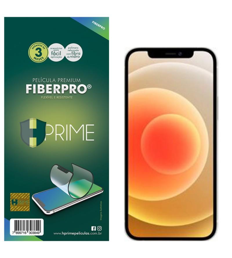 Película Premium Hprime Fiber Pro Preto iPhone 12 Mini 5.4