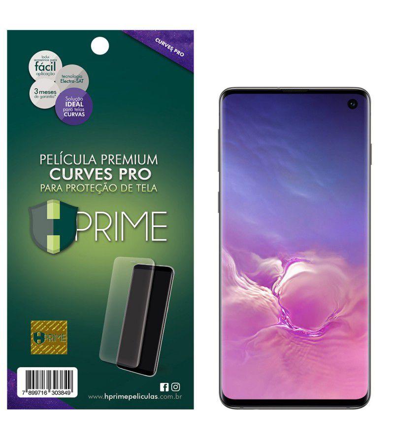 Película Premium HPrime Samsung Galaxy S10 - Curves PRO