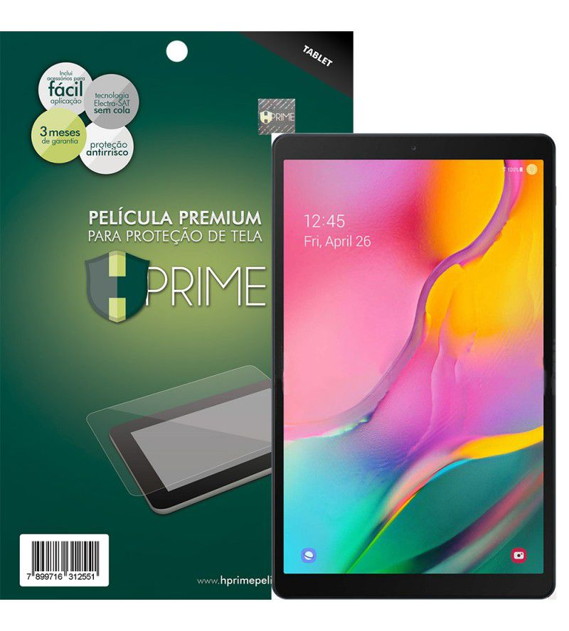 "Película Premium HPrime Samsung Galaxy Tab A 10.1"" (2019) T510 T515 - PET Invisível"