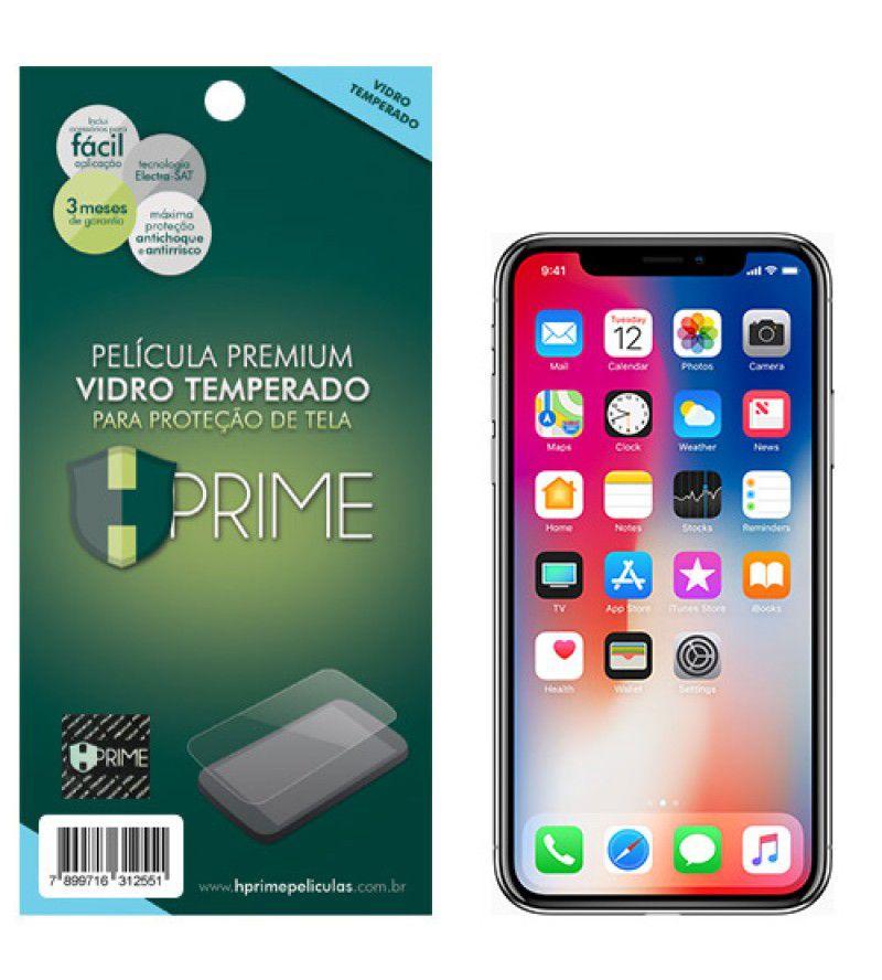 Película Vidro Temperado Iphone X/XS/11 Pro