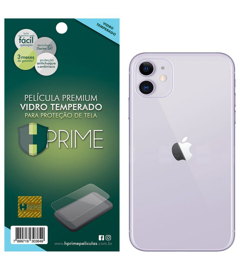 Película Vidro Temperado Premium HPrime Apple IPhone 11 - VERSO