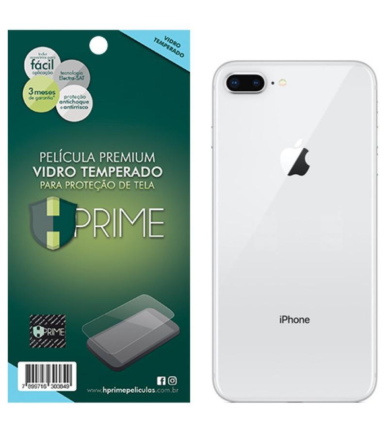 Película Vidro Temperado Premium Hprime iPhone 8 Plus Verso