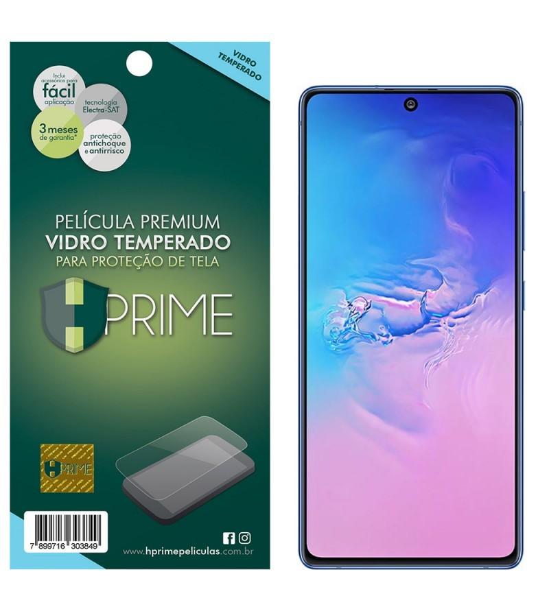 Película Vidro Temperado Premium HPrime Samsung Galaxy S10 Lite