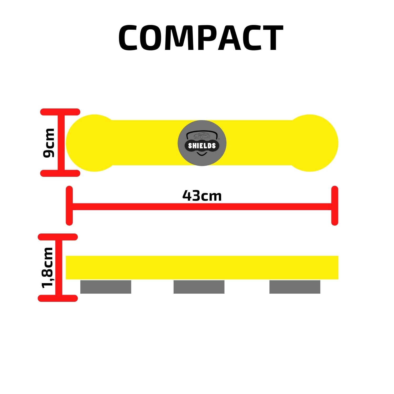 Protetor de Portas P/ Carros Shields Compact Kit c/2