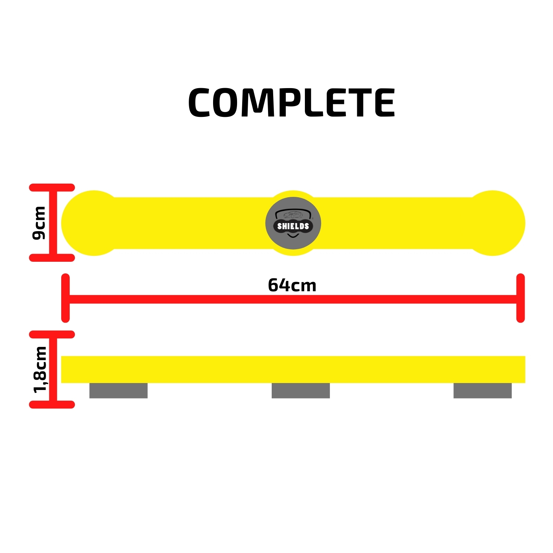 Protetor de Portas P/ Carros Shields Complete Kit c/2