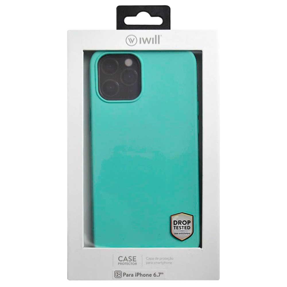 Simple Case para iPhone 12 Pro Max Verde Menta - Capa Protetora