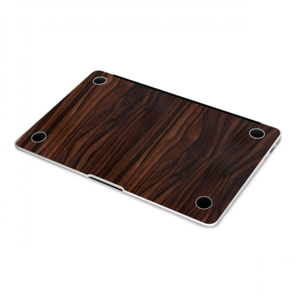 Adesivo Skin Premium Estampa madeira para Macbook Pro 13 A1278