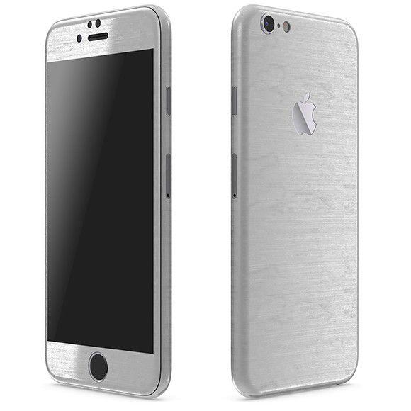 Skin Adesivo Premium Estampa Aço Escovado Iphone 6s