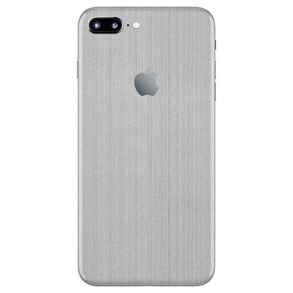 Skin Premium - Adesivo Estampa Aço Escovado iPhone 7 Plus