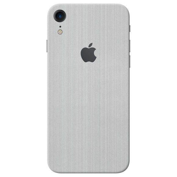 Skin Premium - Adesivo Estampa Aço Escovado Iphone Xr