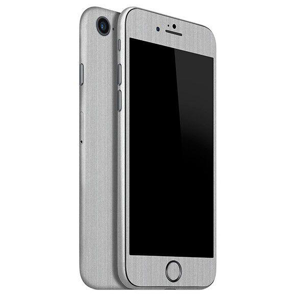 Skin Premium - Adesivo Estampa Aço Escovado Phone 8