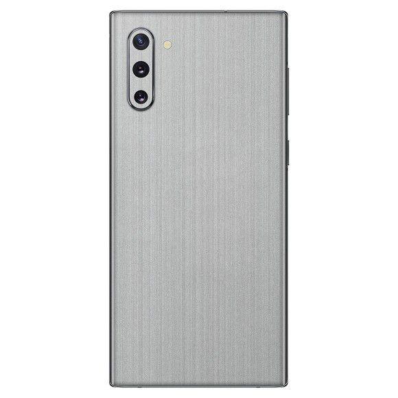 Skin Premium Adesivo Estampa Aço Escovado Samsung Galaxy Note 10