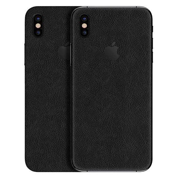 Skin Premium - Adesivo Estampa Couro iPhone X
