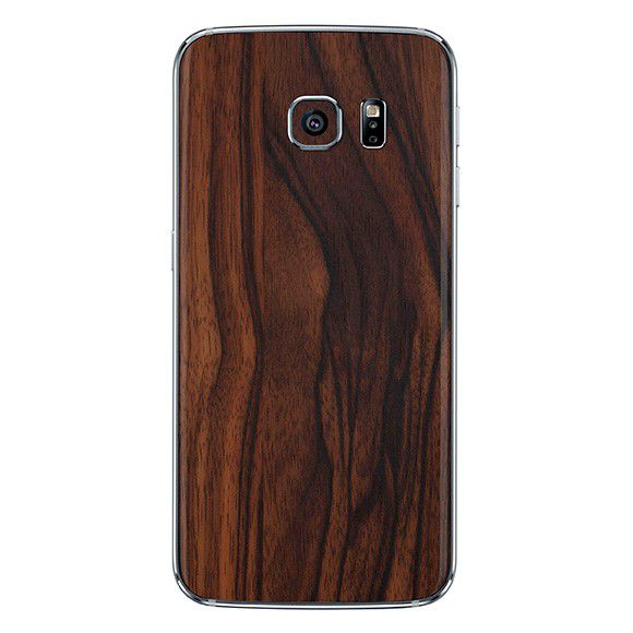 Skin Premium Adesivo Estampa Madeira Galaxy S7