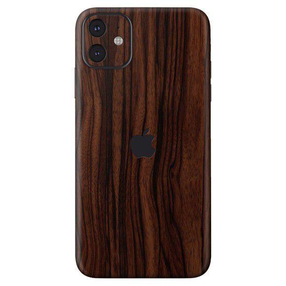 Skin Premium - Adesivo Estampa Madeira  iPhone 11