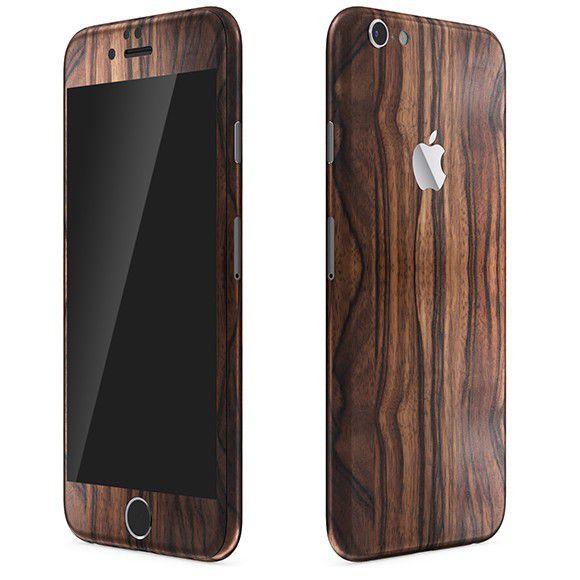 Skin Premium Adesivo Estampa Madeira  Iphone 6s/6s Plus