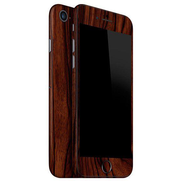Skin Premium - Adesivo Estampa Madeira iPhone 8