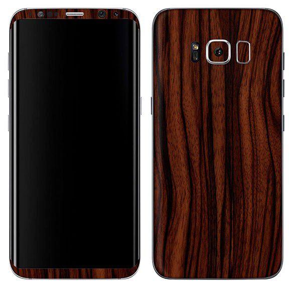 Skin Premium - Adesivo Estampa Madeira Samsung Galaxy S8 Plus