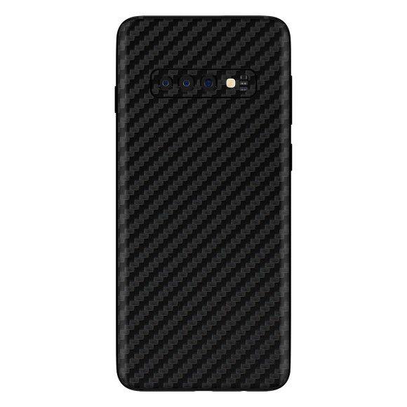 Skin Premium - Adesivo Fibra Carbono Samsung Galaxy S10