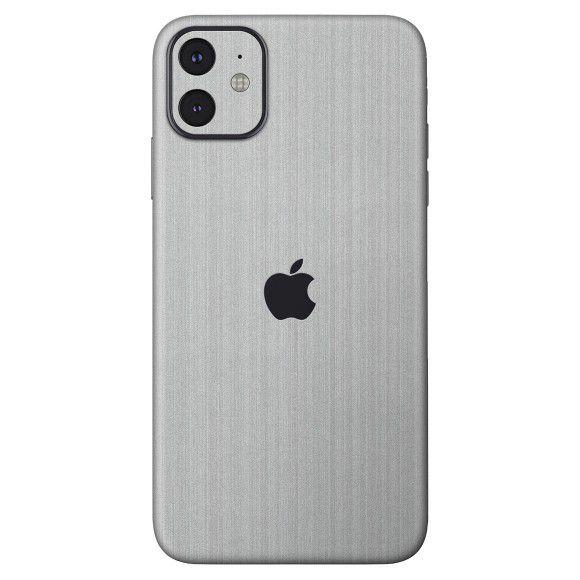Skin Premium - Estampa Aço Escovado iPhone 11