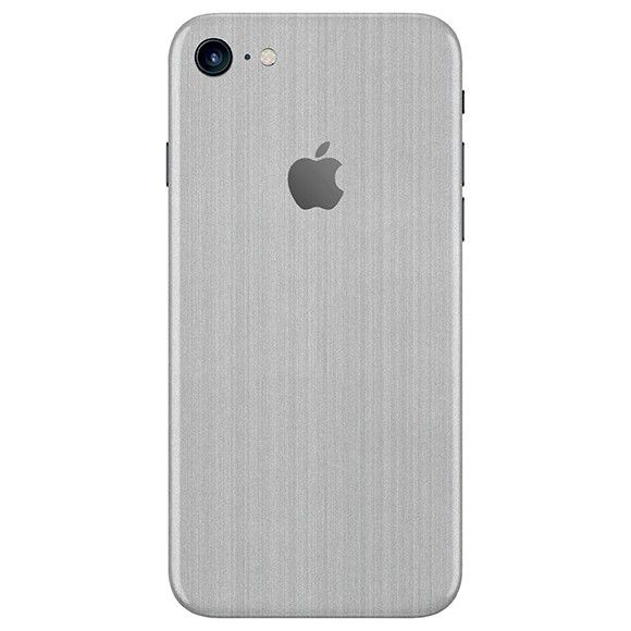 Skin Premium - Estampa Aço Escovado iPhone 7