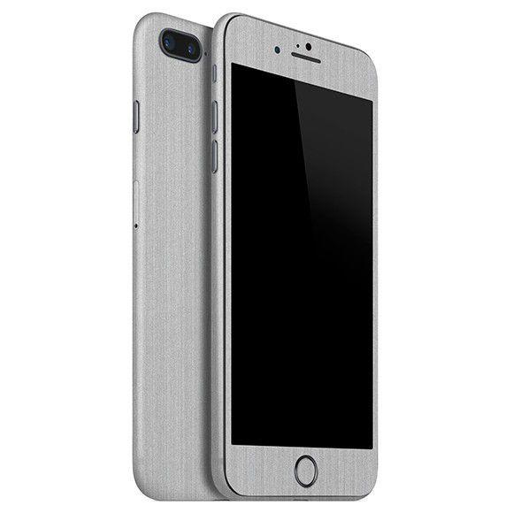 Skin Premium Estampa Aço Escovado Iphone 8 Plus