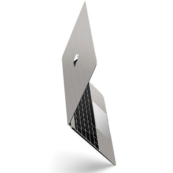 Skin Premium Estampa Aço Escovado Macbook Pro 12 Retina
