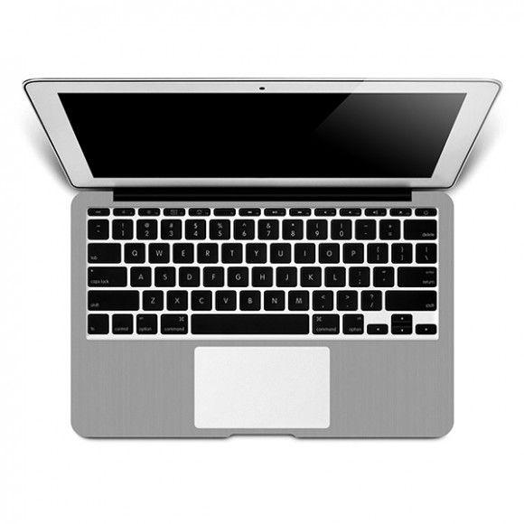 Skin Premium Estampa Aço Escovado Macbook Pro 15 Retina Meados 2012 a 2016
