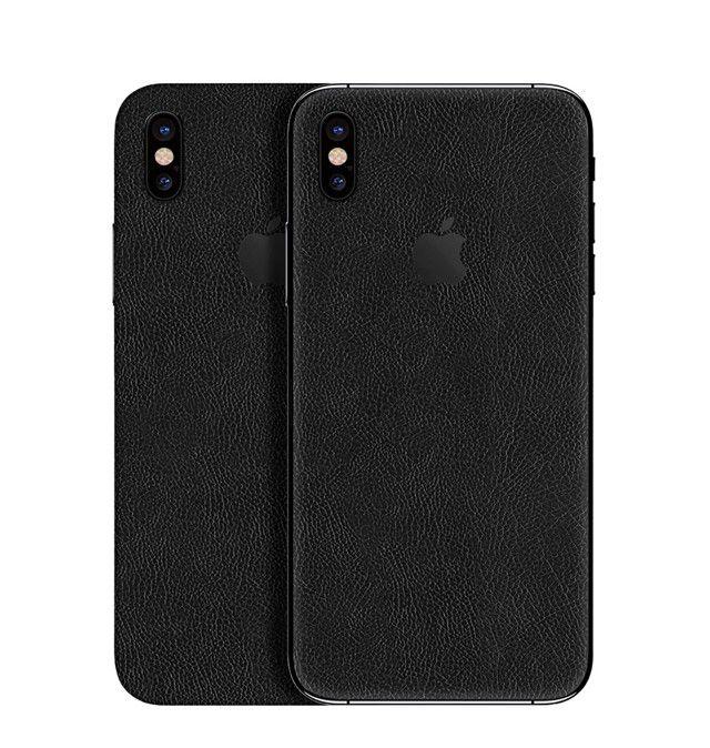 Skin Premium - Estampa Couro Para  Iphone Xs Max