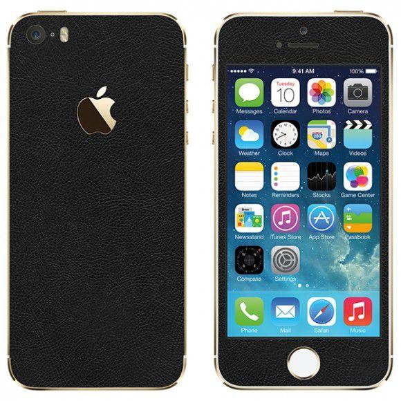 Skin Premium - Estampa Couro Iphone 5/5s/Se