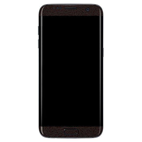 Skin-premium Estampa Couro Para Samsung Galaxy S7 Edge