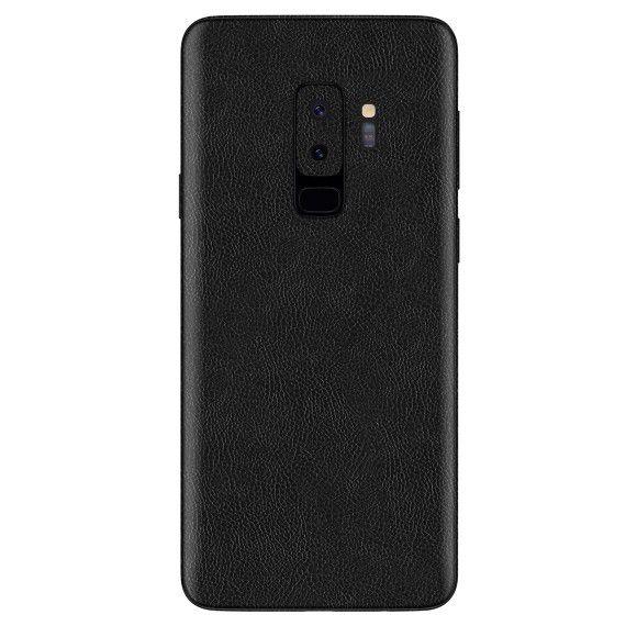 Skin Premium Estampa de Couro Verso e Laterais para Samsung Galaxy S9 Plus