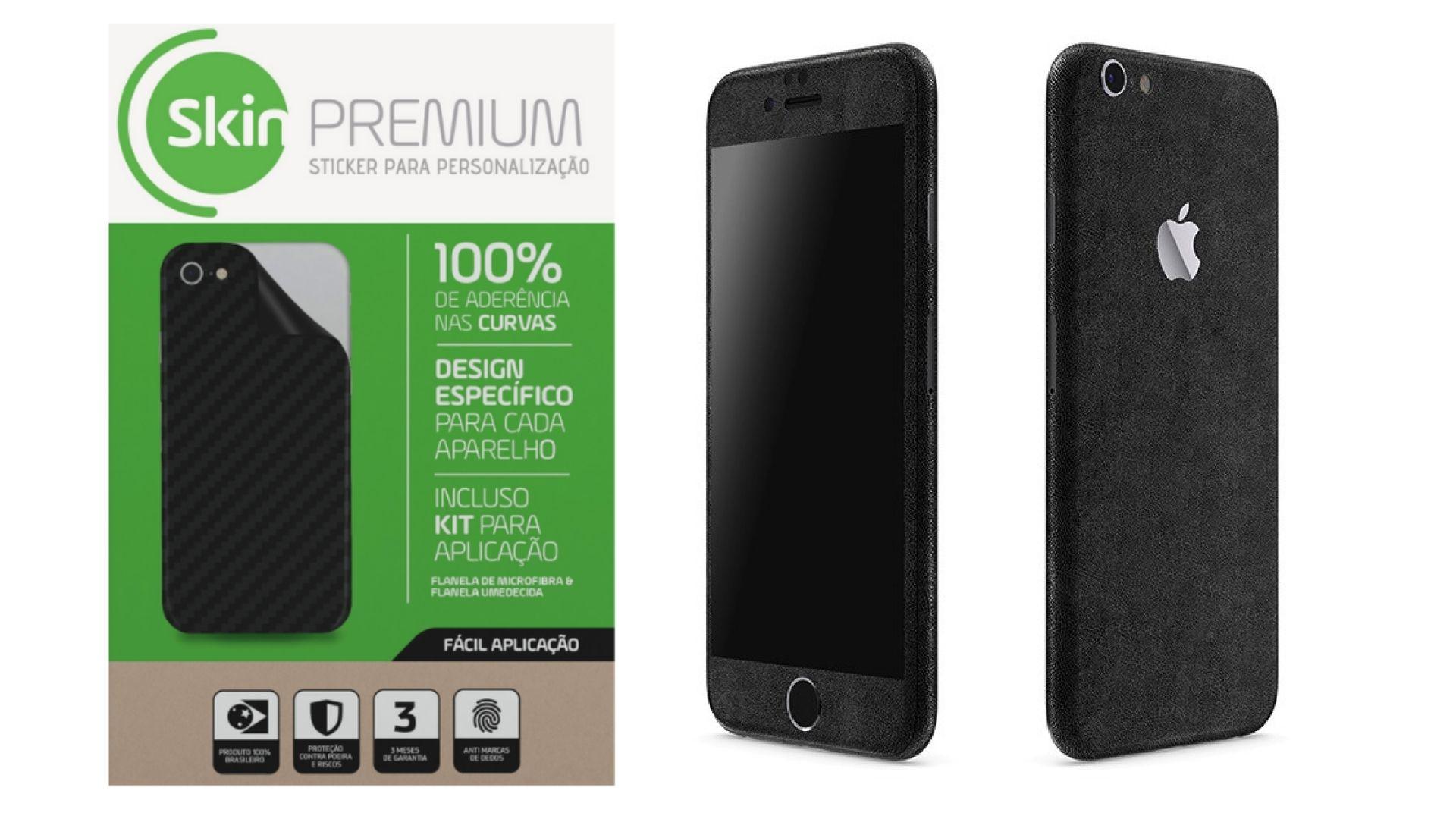 Skin Premium Estampa de Couro para Iphone 6s
