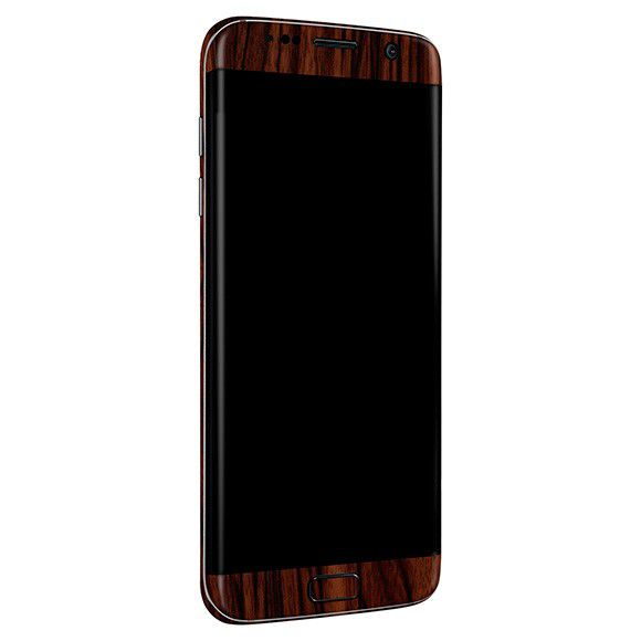 Skin-premium Estampa De Madeira Para Samsung Galaxy S7 Edge