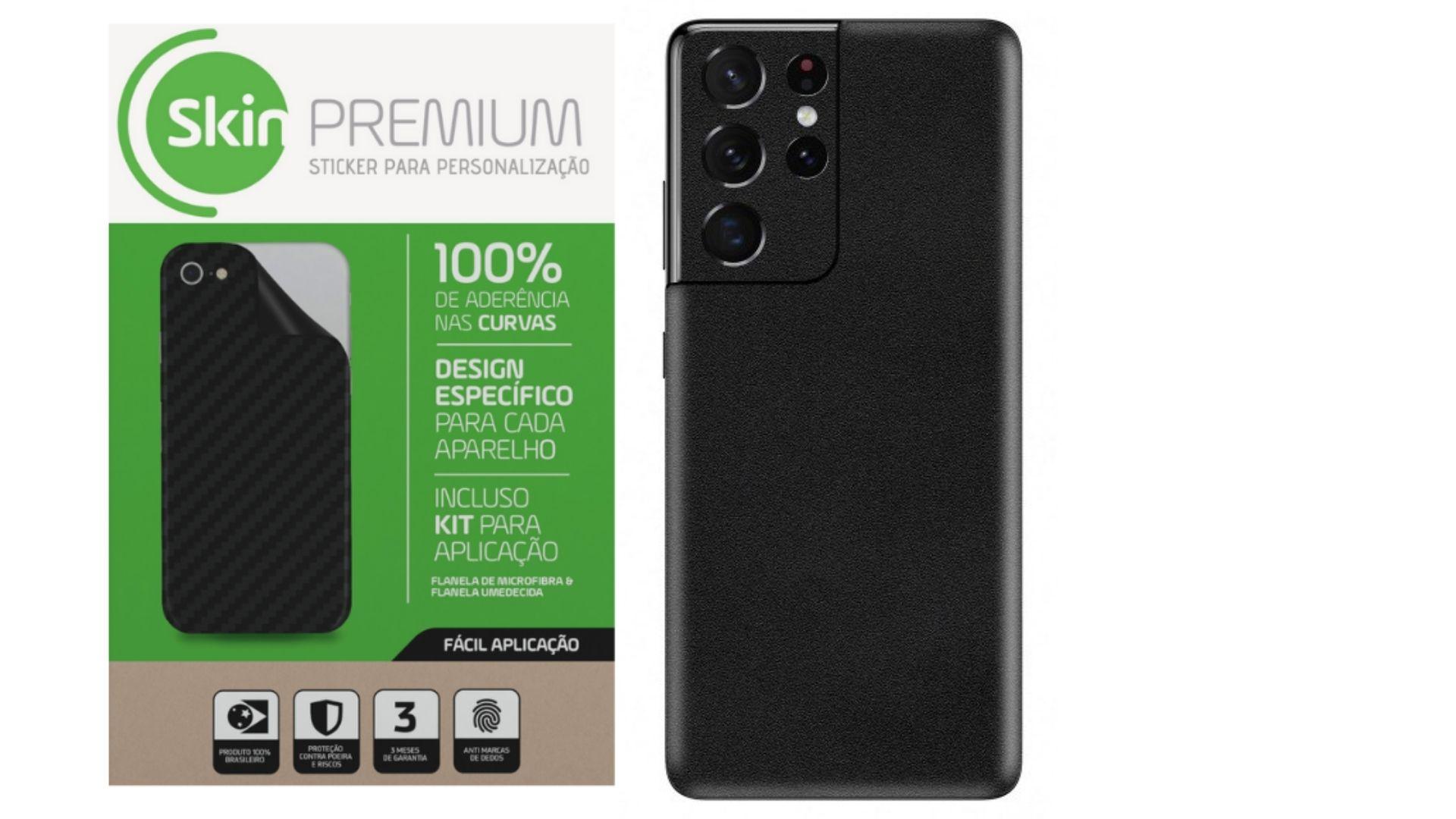 Skin Premium Estampa Jateado Fosco para Samsung Galaxy S21 Ultra