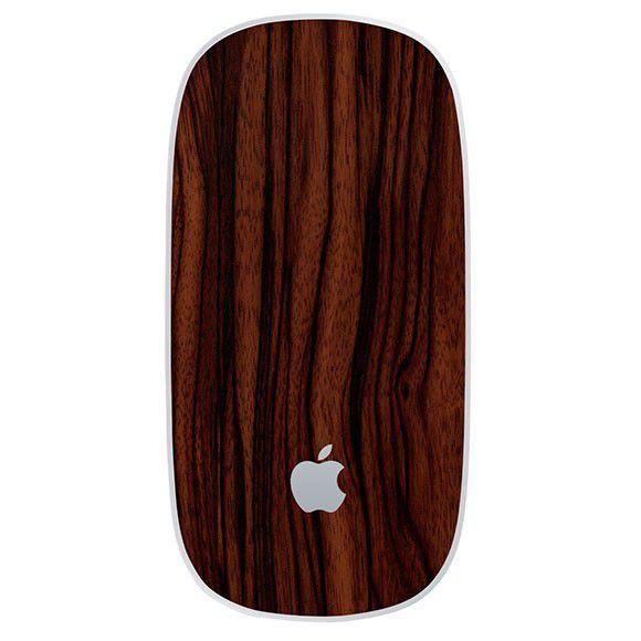 Skin Premium Estampa Madeira Apple Magic Mouse 2/2015