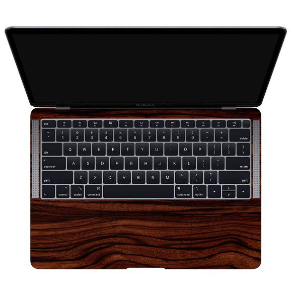 Skin Premium - Estampa Madeira  MacBook Air 13 Retina Modelo A1932 Ano 2018-2019