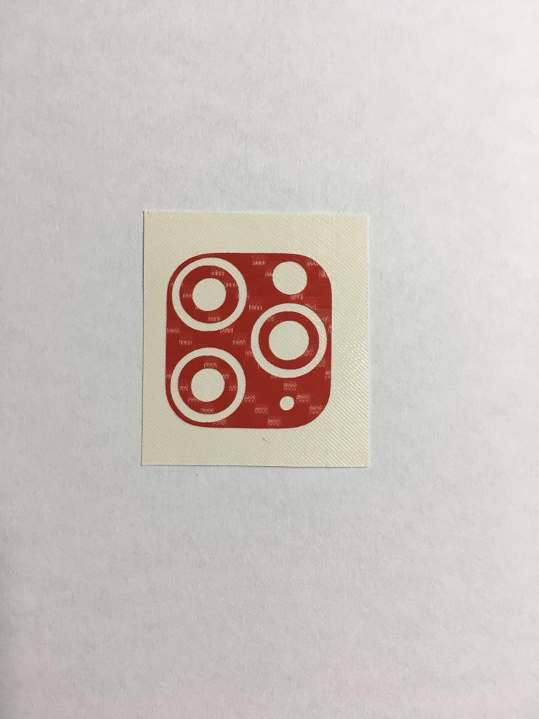 Skin Premium - Fibra Carbono Câmera iPhone 11 Pro/11 Pro Max