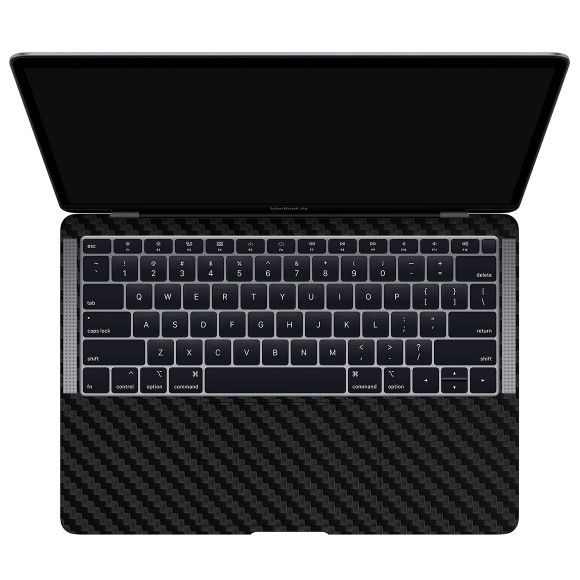 Skin Premium Fibra Carbono MacBook Air 13 Retina Modelo A1932 Ano 2018-2019