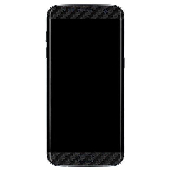 Styker Skin Premium Fibra De Carbono Preto Galaxy S7 Edge