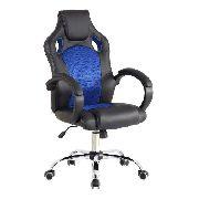 Cadeira Presidente Gamer Escritório Couro Pu Relax