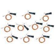 Kit com 10 Cordas Speed Rope Simples com Rolamento Odin Fit