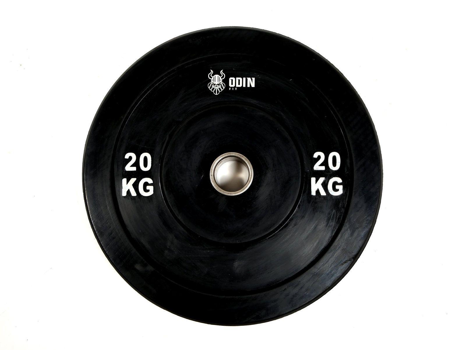 Anilha Olímpica em Borracha 20Kg - Odin Fit