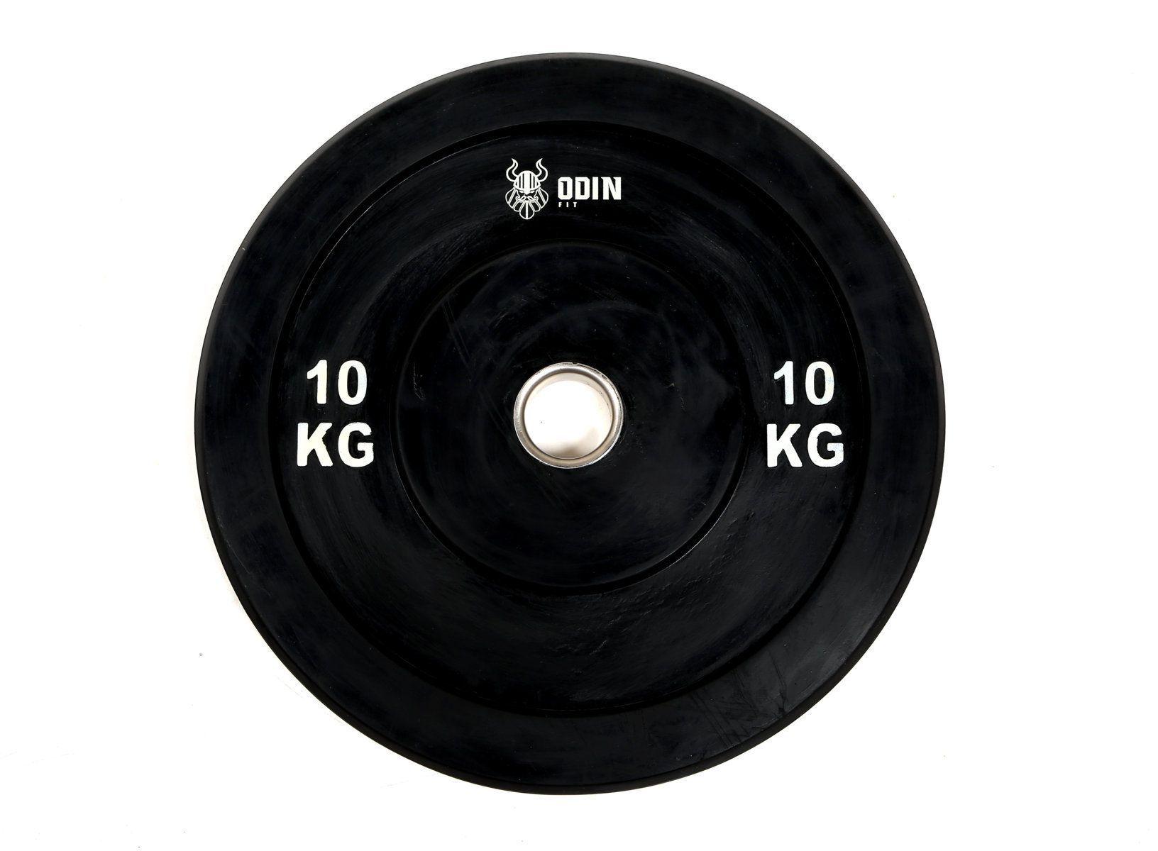Anilha Olímpica em Borracha 10Kg - Odin Fit