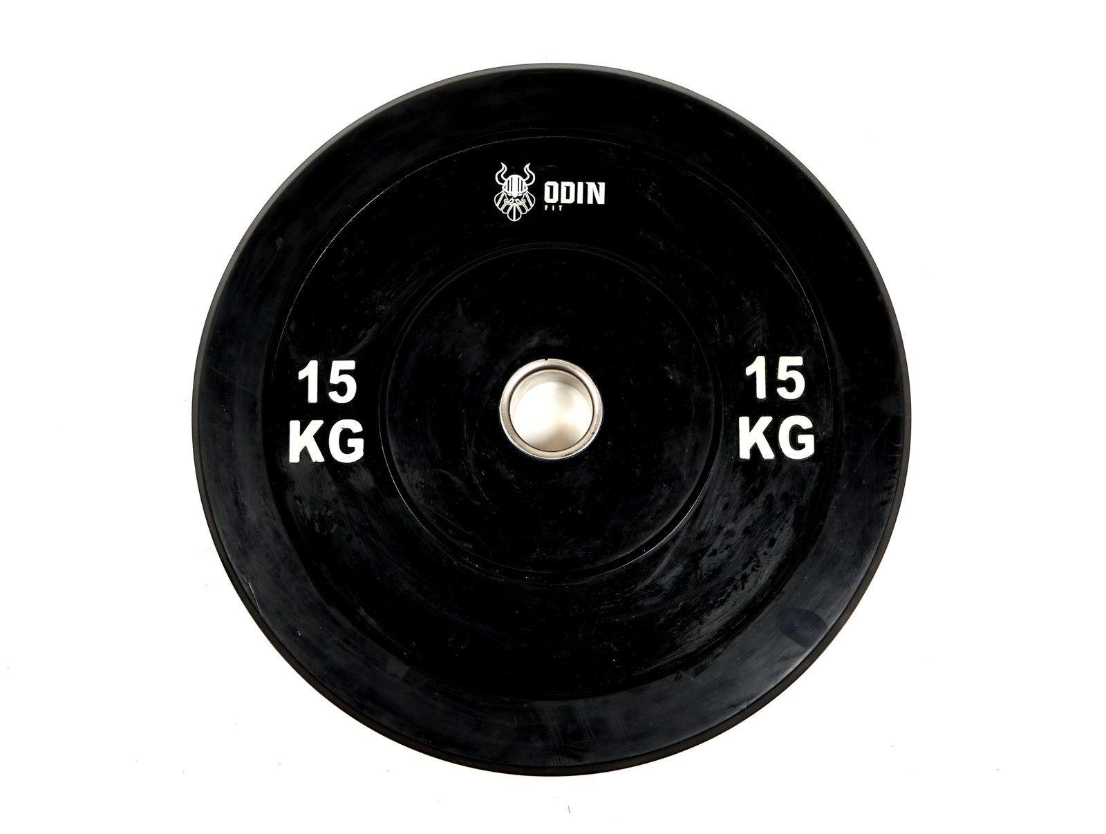 Anilha Olímpica em Borracha 15Kg - Odin Fit