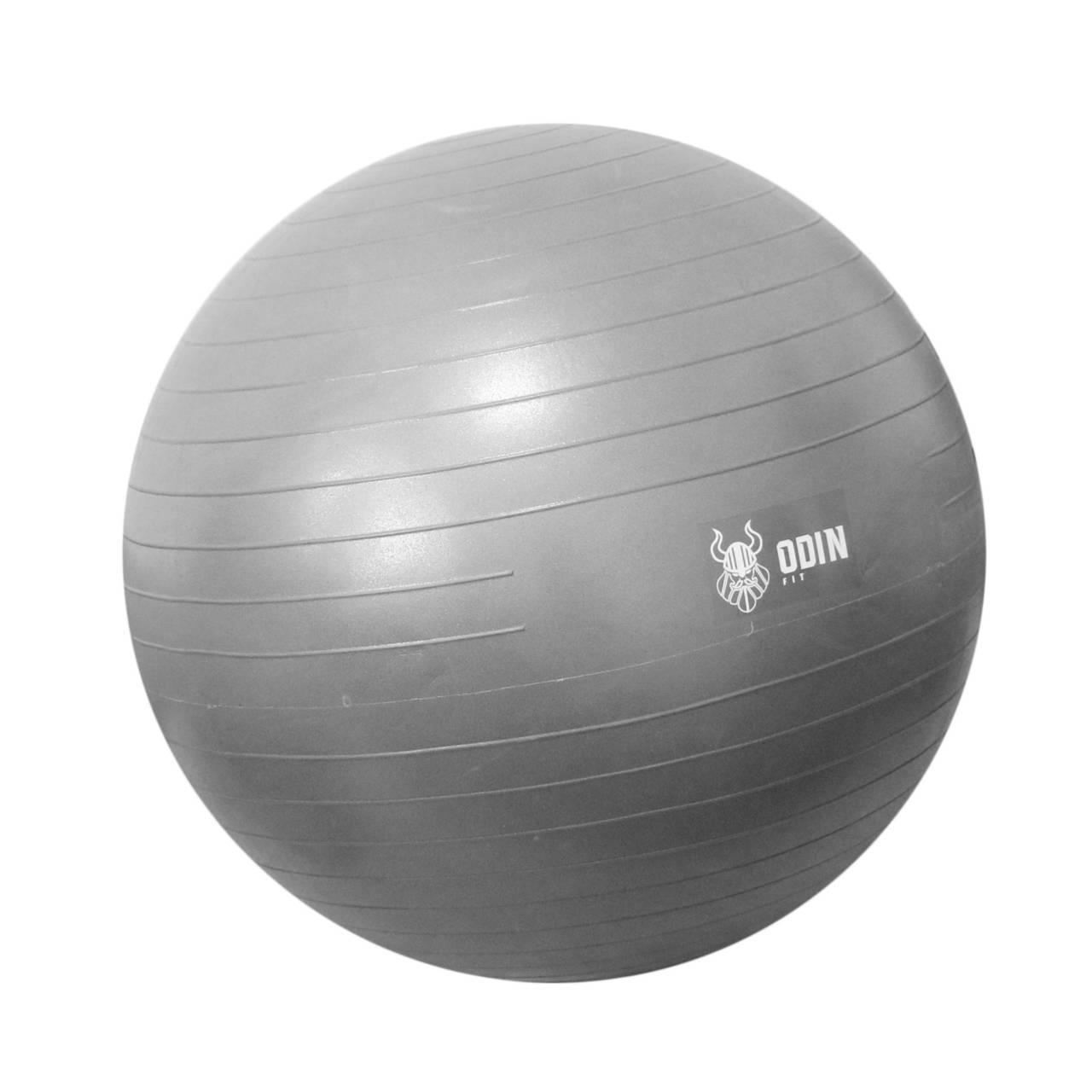 Bola de Ginástica Suíça 65cm - Cinza - ODIN FIT 0d417319cb3b7